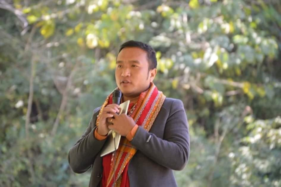 Pastor Cung Biak Hum was shot dead by junta soldiers while trying to extinguish the fires (Cung Biak Hum/Facebook)