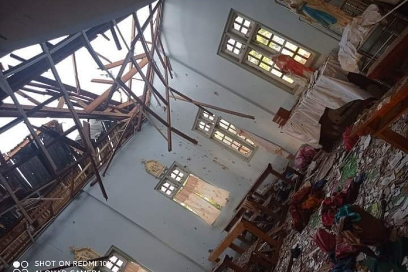 Four Killed in Military Shelling of Church in Myanmar as Violence Continues After Coup