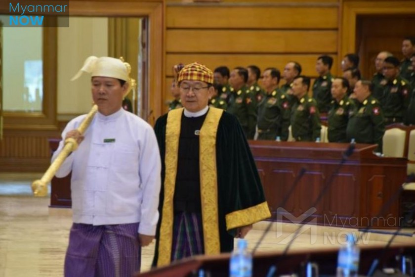 Military and allies seek NLD-backed assembly speaker's impeachment ...